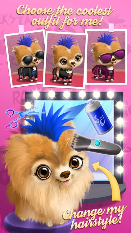 Animal Hair Salon Rock Stars screenshot-3