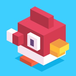 Crossy Tiny Bird Tappy - Sky Surfers Jumping