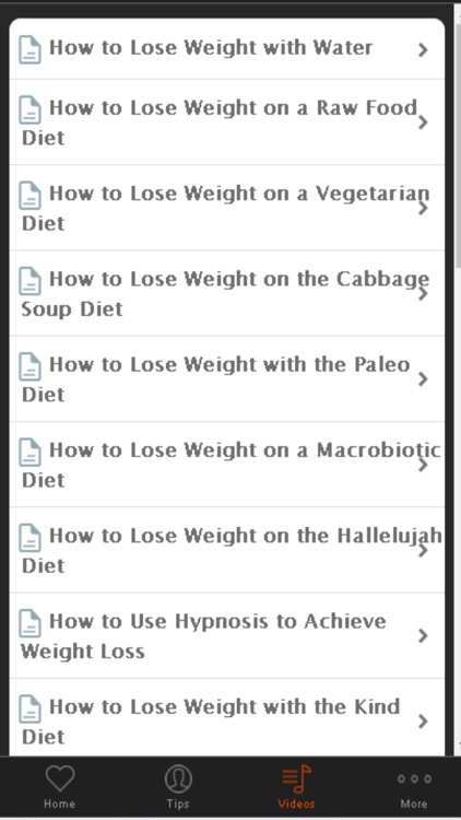 How to Lose Weight - Tips for Losing Weight The Healthy Way screenshot-4