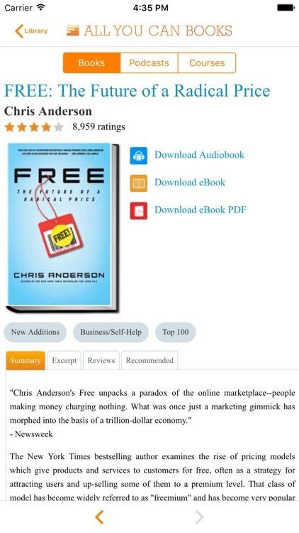 All You Can Books - Unlimited Audio Books, eBooks screenshot-4