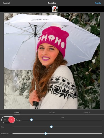 Screenshot #3 for Video Color Editor - Change Video Color, Add Video Filters and Vintage Effects