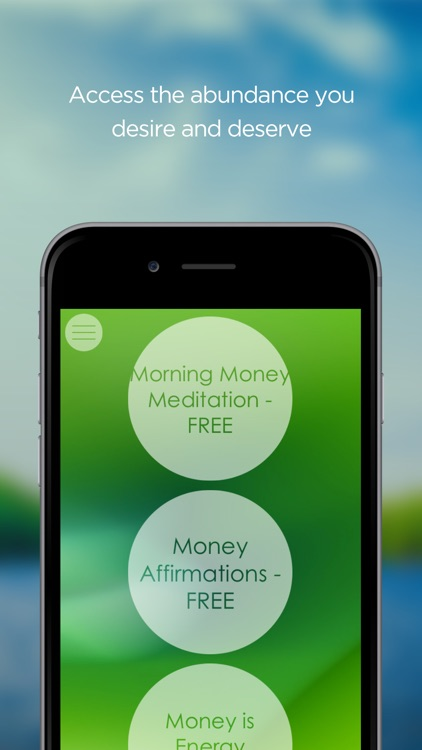 Manifest Money Meditation screenshot-1