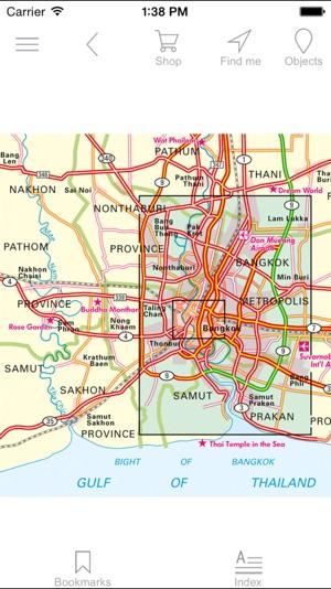 Bangkok and Greater Bangkok Tourist map on the App Store