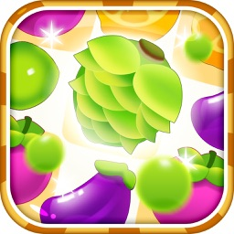 Fruit Land- Jelly & Gems Soda Crush Blast(Top Quest of Candy Match 3 Games)