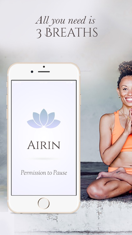 Airin -- Take a deep breath -- Self care from The Woman's Network