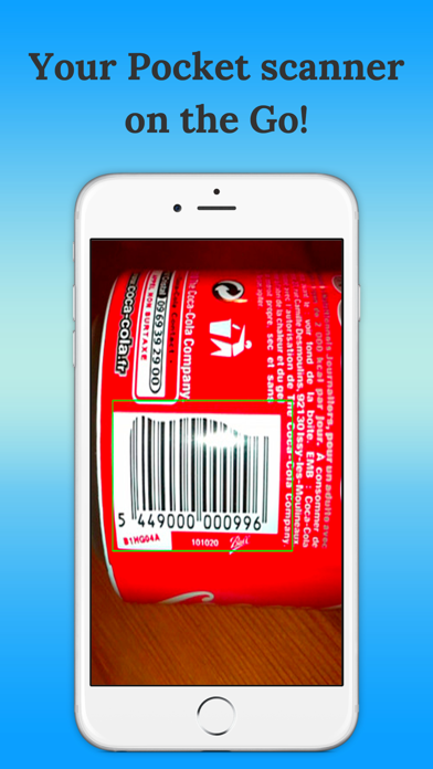 Barcode Reader-quickscan screenshot two