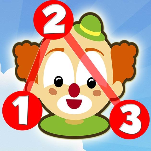 Unisci i puntini per bambini impara i numeri e le - Colore per numeri per i bambini ...