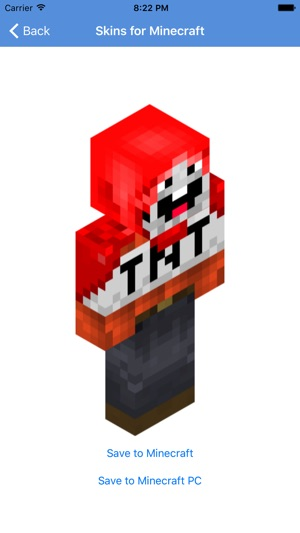 Skins For Minecraft PE Skins On The App Store - Skins para minecraft pe red
