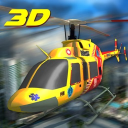 911 City Rescue Helicopter Sim 3D