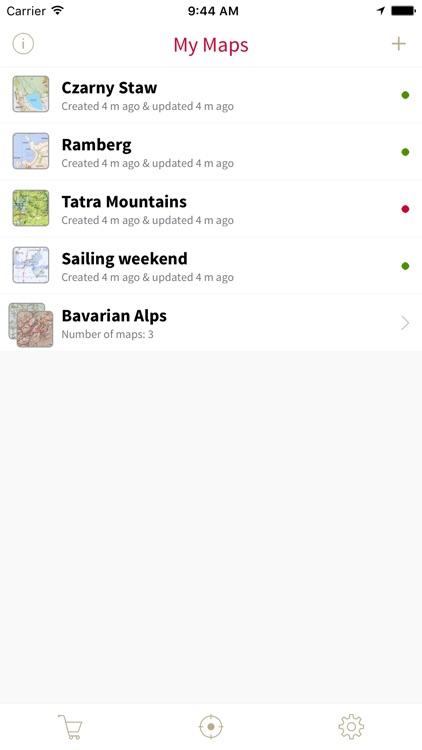 PaperGPS screenshot-3