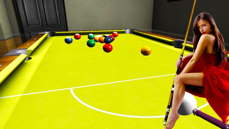 Pool Ball 3D billiards Snooker Arcade game 2k16 screenshot-1