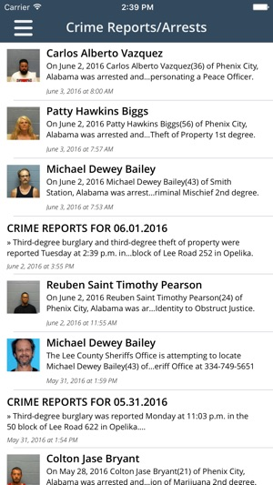 Lee County Sheriff's Office Alabama on the App Store