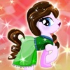 High My Monster Pony princess Dress-Up - After makeover queen dolls frozen white games for girls