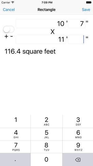 Square Feet Calculation Utility on the App Store