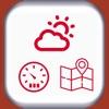 Hike-Wetter, Geschwindigkeit und Karte anzeigen