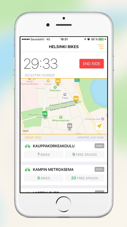 Helsinki Bikes screenshot-3