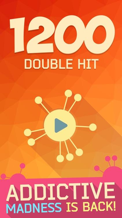 1200: Double Hit - Two Color Dots Addictive Puzzle