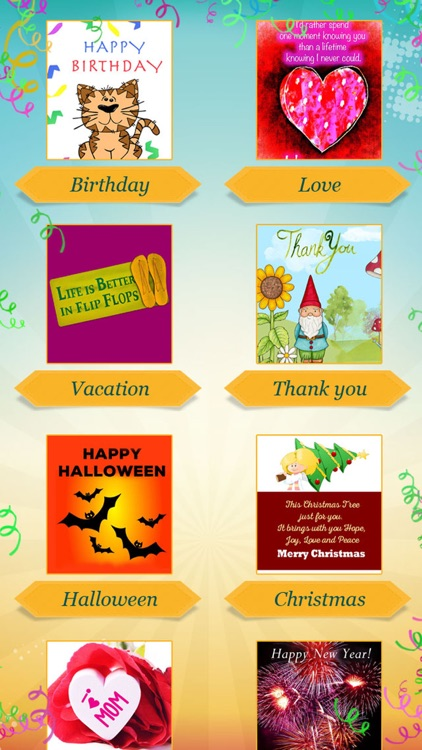 Greeting Cards for Every Occasion - Greetings, Congratulations & Saying Images screenshot-3