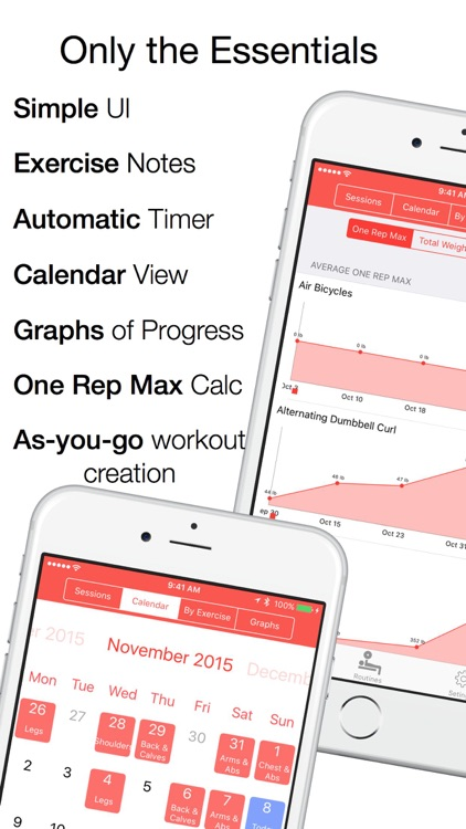 Zen Workouts - Strength Training planner, logger, and analyzer screenshot-0