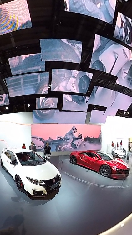 VR Virtual Reality press360 Motor Show - IAA 2015 Walk Through Hall 9 screenshot-4