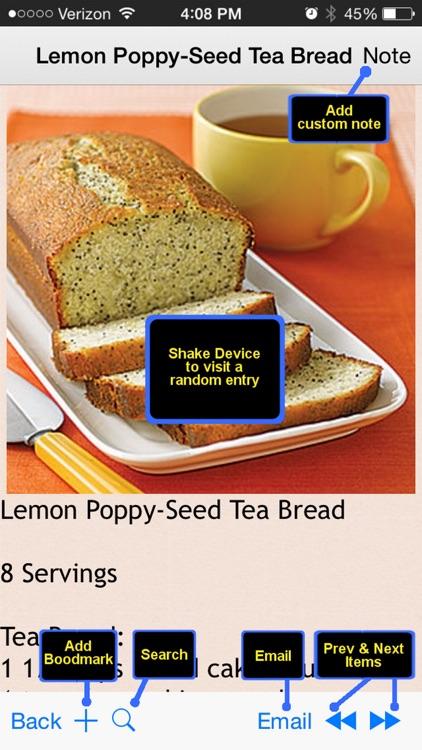 300 Bread Recipes screenshot-3
