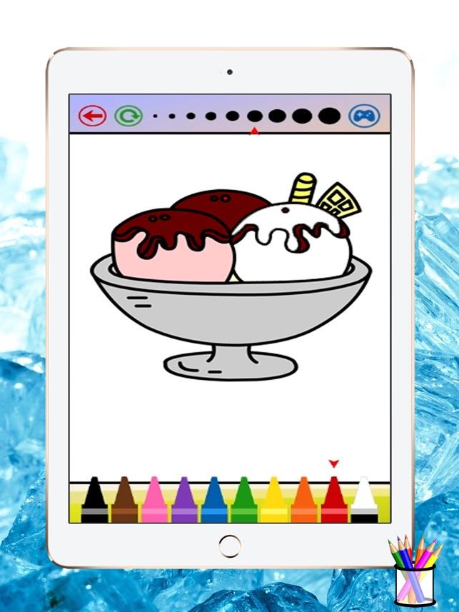 Es Krim Buku Mewarnai Untuk Anak Anak Di App Store