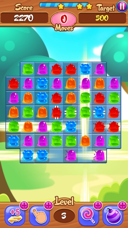 Juicy Jelly Bean Candy Drop: Sweetest Match 3 Gum Delicious Challenging