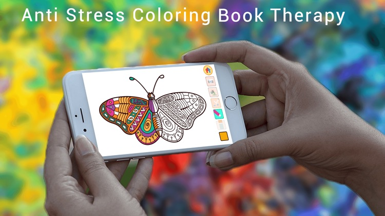 Colorment: Free Stress Relieving Mandala Coloring Books screenshot-3