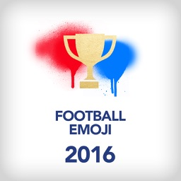Football Emoji 2016 - For real Euro 2016 France fans