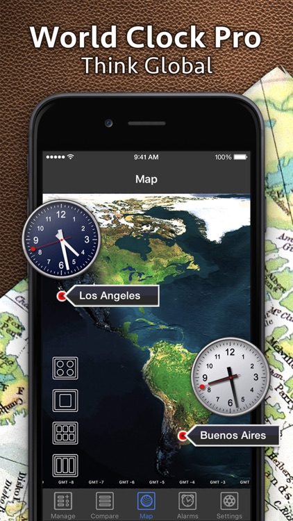 World Clock Pro - Worldwide Clocks screenshot-0
