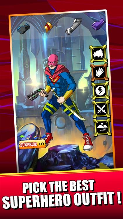 Create Superhero Captain - Dress Up Games For Batman & Superman Edition