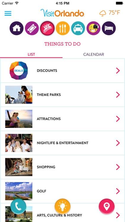 The Visit Orlando Destination App screenshot-3