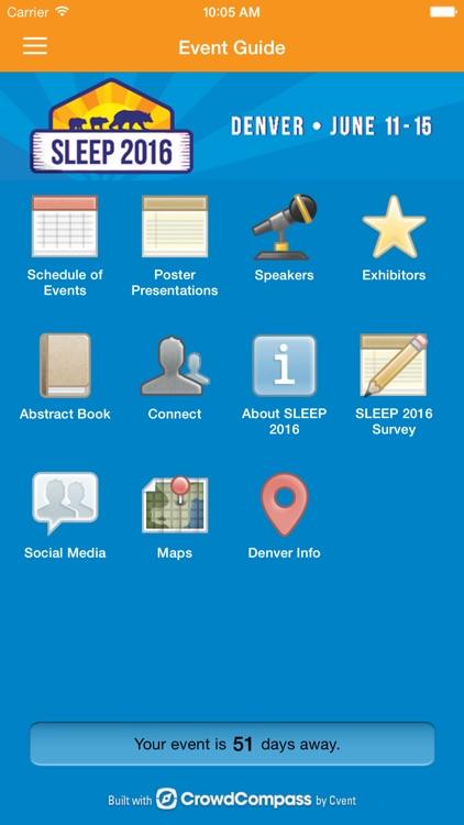 SLEEP 2016 Meeting