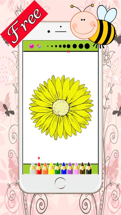 Florist and Mandalas Coloring Book For Adult : Best Colors Therapy Stress Relieving  Free