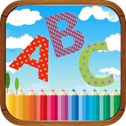 Kids Coloring Book ABC