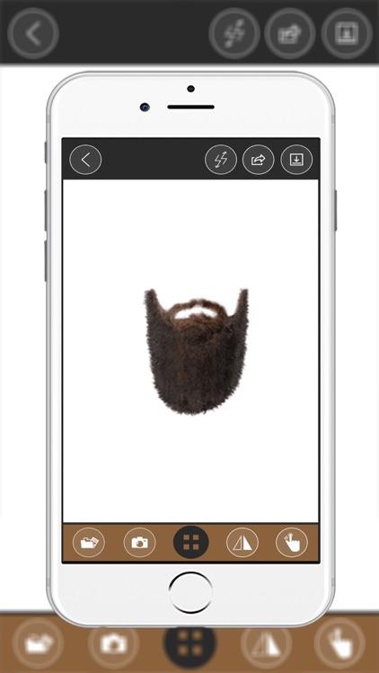 Beard Woman Montage Photo :