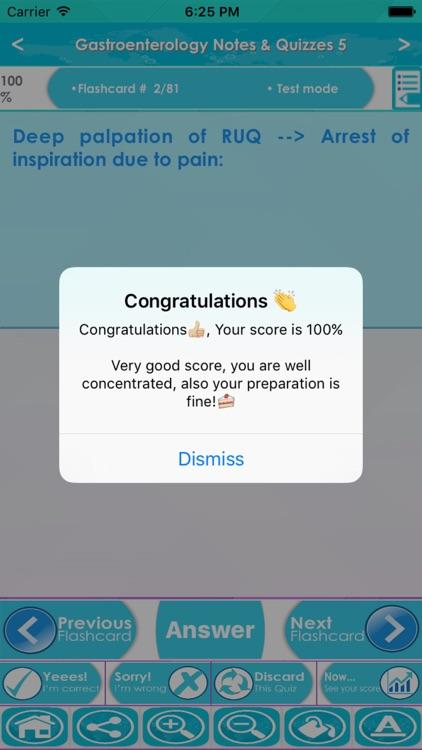 Gastroenterology Exam Review : 2800 Quiz & Exam Review screenshot-4