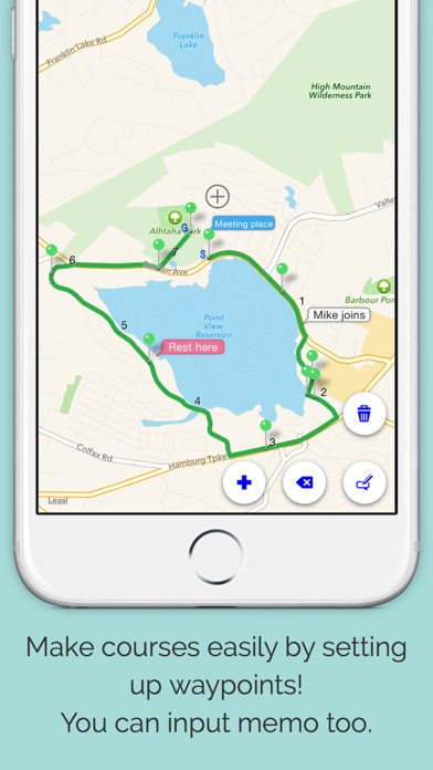 download RouteDesigner - Running,Walk,Cycling courses apps 1
