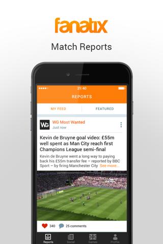 fanatix - Sports Video News screenshot 1