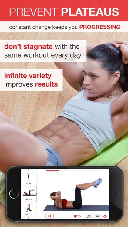 7 Minute Workout - Beginner to Advanced High Intensity Interval Training (HIIT) screenshot-4