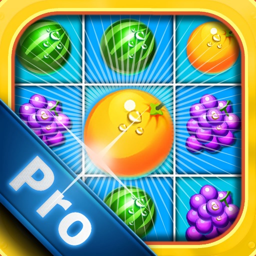 Fruit Blitz Frontline PRO - Fruit Adventure Grand Match-Three Puzzle Challenge