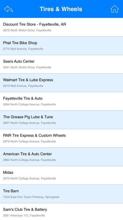 Great App for Discount Tire Stores screenshot-4