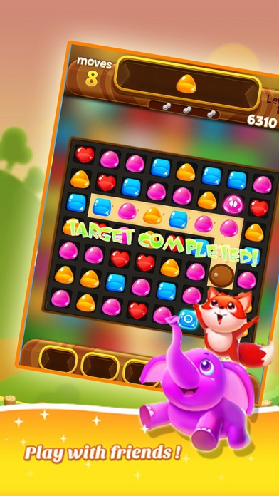 Jelly Bomb Link Blast screenshot two