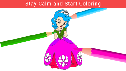 Color Filler - AgColor Book For Relax Curative Mind and Calmness screenshot one