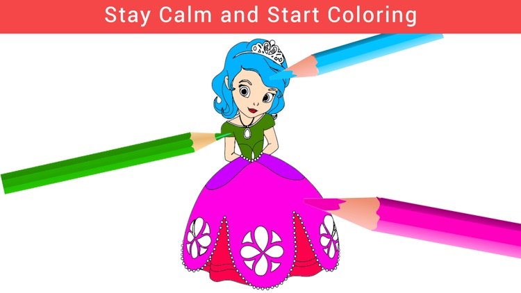 Color Filler - AgColor Book For Relax Curative Mind and Calmness