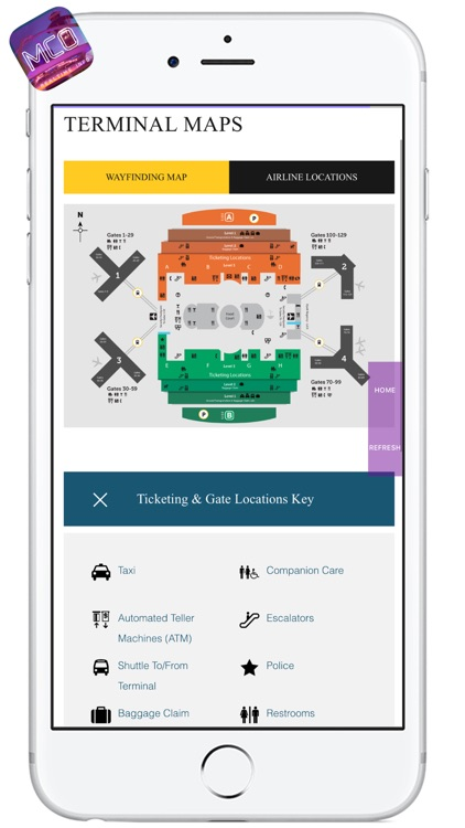 MCO AIRPORT - Realtime Flight Info - ORLANDO INTERNATIONAL AIRPORT screenshot-3