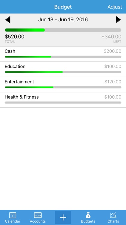 Expense Manager - Personal Finance Assistant Free screenshot-3