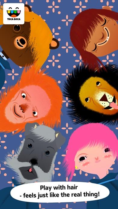 Screenshot for Toca Hair Salon in Jordan App Store
