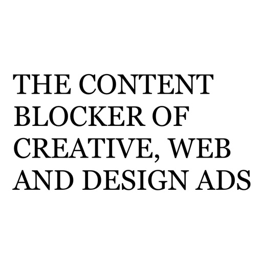 Swab – The Content Blocker of Creative, Web and Design Culture Ads