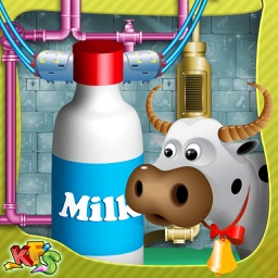 Milk Factory – Make milk in this cooking simulator game & deliver it to shop